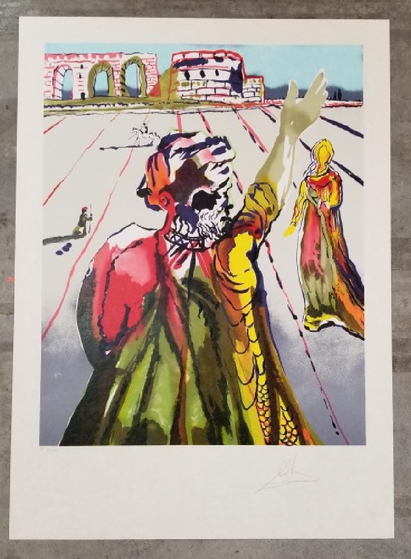 """Salvador Dali """"The Poet Advises"""", Japon"""