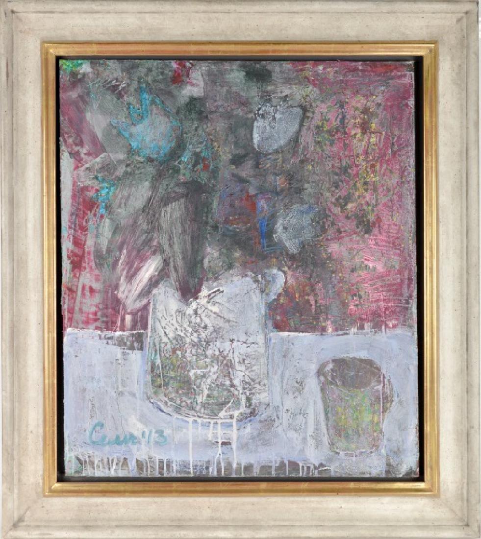 Natalya Zastavna, Abstract Floral Still Life