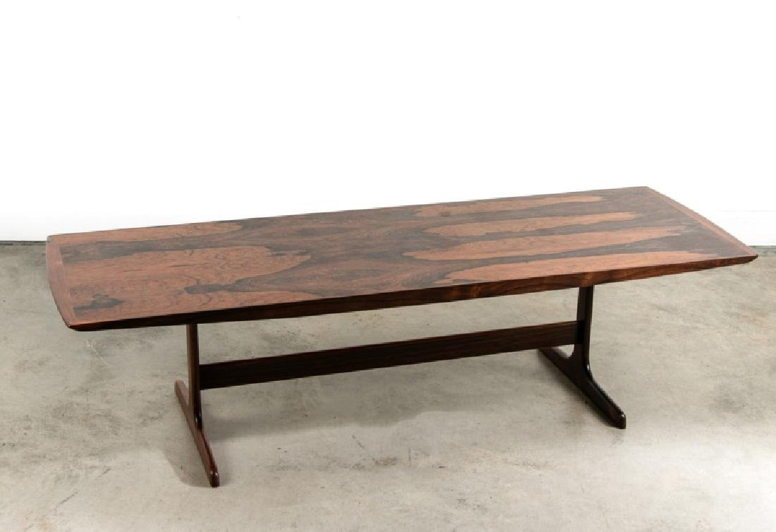 Mid-Century Dutch Rosewood Coffee Table by Fristho