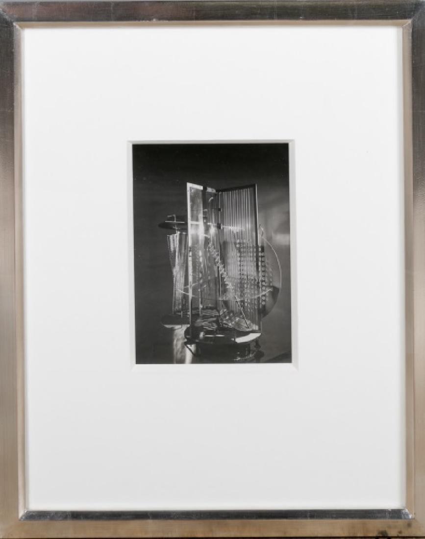 "Moholy-Nagy Gelatin Print, ""Light Space Modulator"""