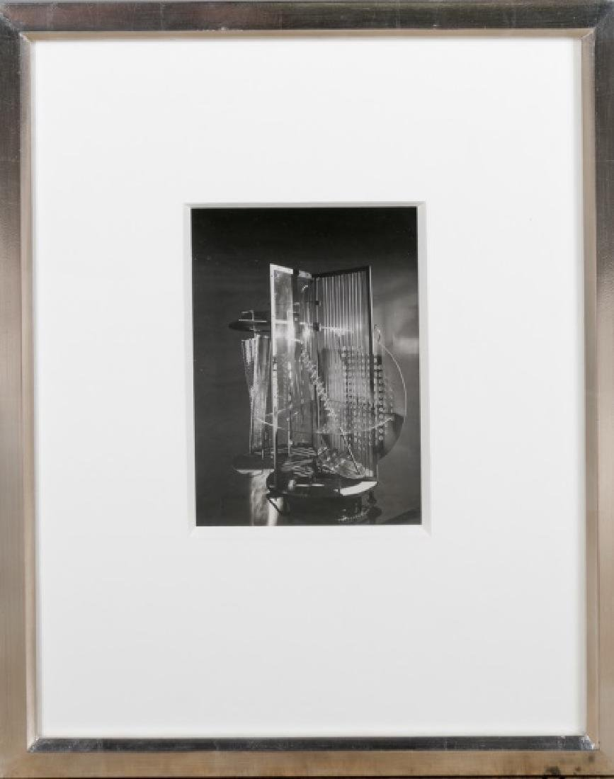 "Moholy-Nagy Gelatin Print, ""Light Space Modulator"""