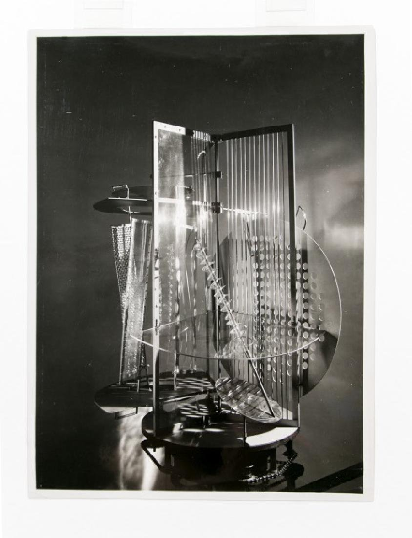 "Moholy-Nagy Gelatin Print, ""Light Space Modulator"" - 2"