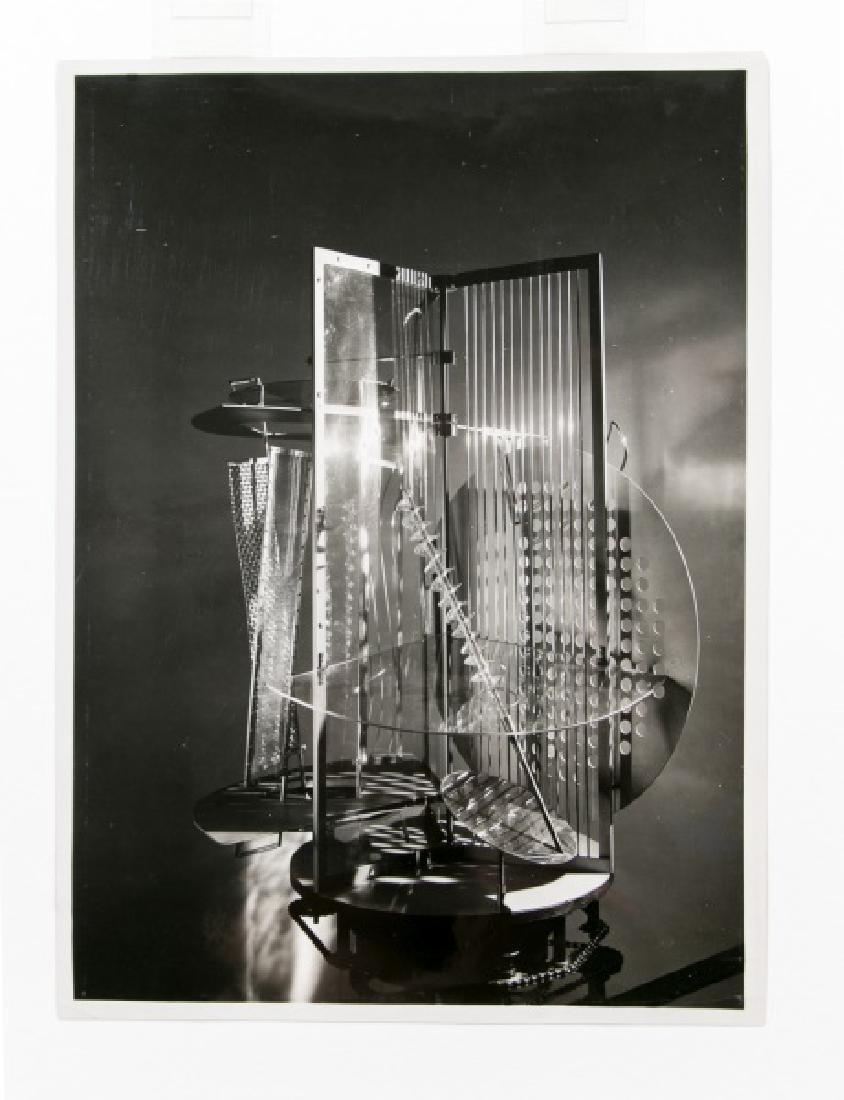 "Moholy-Nagy Gelatin Print, ""Light Space Modulator"" - 2"