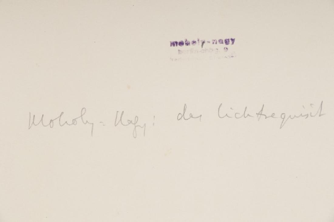 "Moholy-Nagy Gelatin Print, ""Light Space Modulator"" - 3"