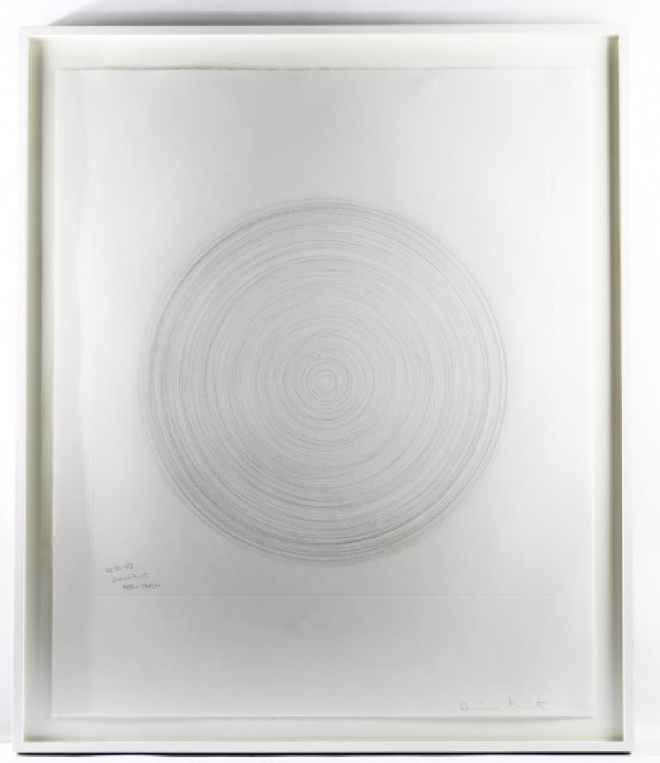 """Damien Hirst, Spin Art, """"Helter Skelter"""", Signed"""