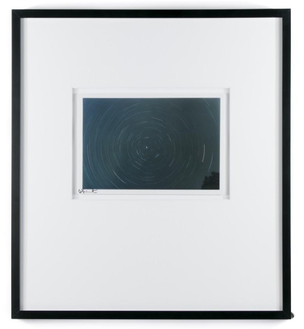 """Damien Hirst Framed """"Spin Photo"""", Signed"""