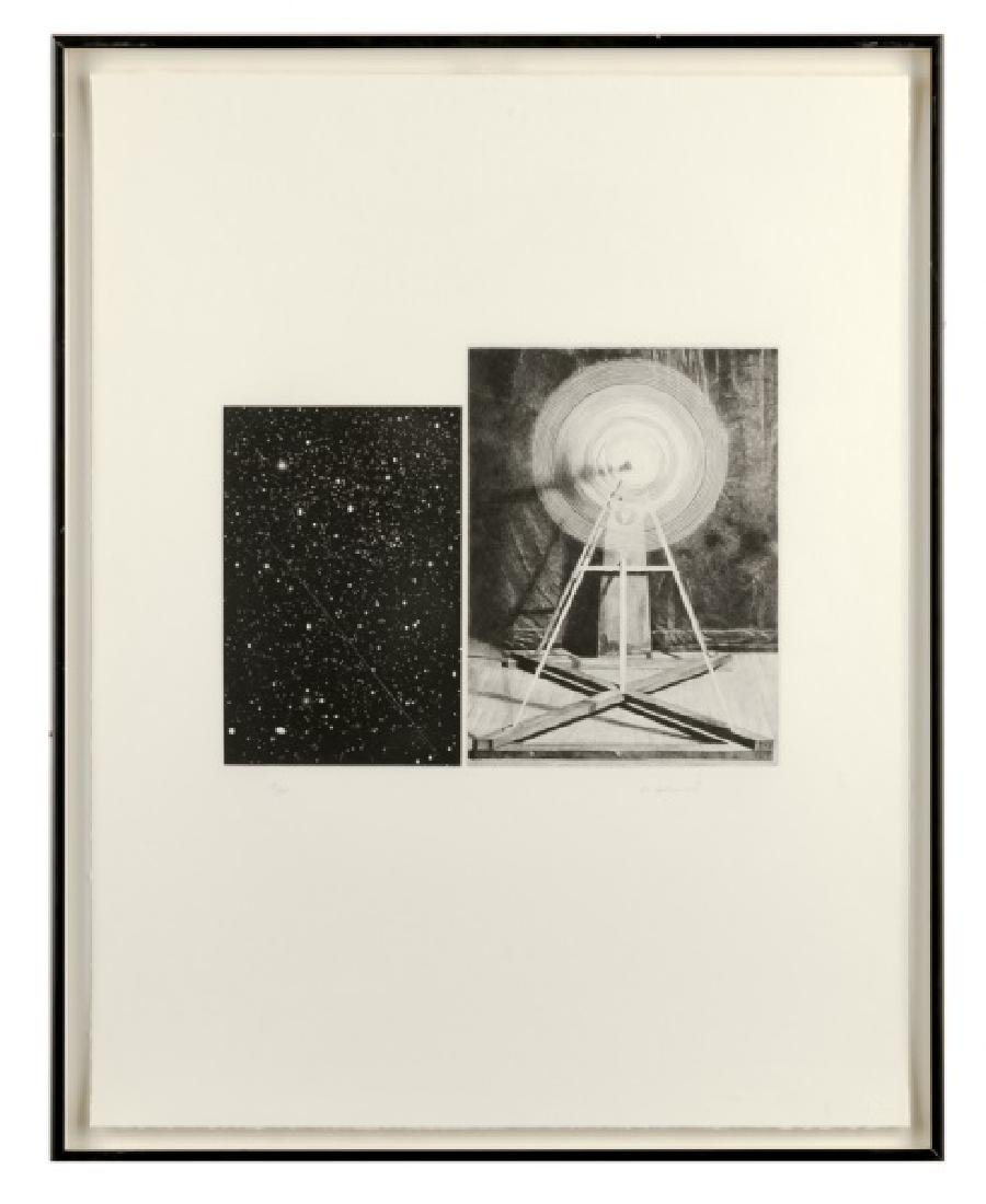 "Vija Celmins ""Concentric Bearings A"" Aquatint"