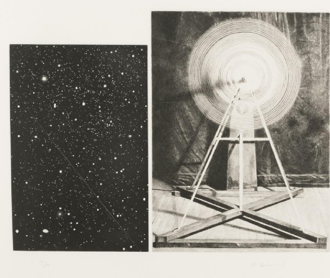 "Vija Celmins ""Concentric Bearings A"" Aquatint - 2"
