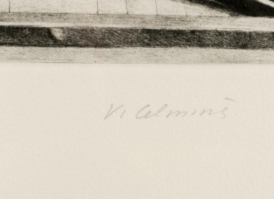 """Vija Celmins """"Concentric Bearings A"""" Aquatint - 3"""