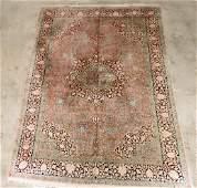 Fine Hand Woven Silk Area Rug 8 1 x 11 3