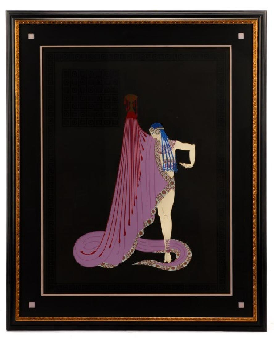 "Erte, ""The Slave,"" Artist Proof Signed Serigraph"
