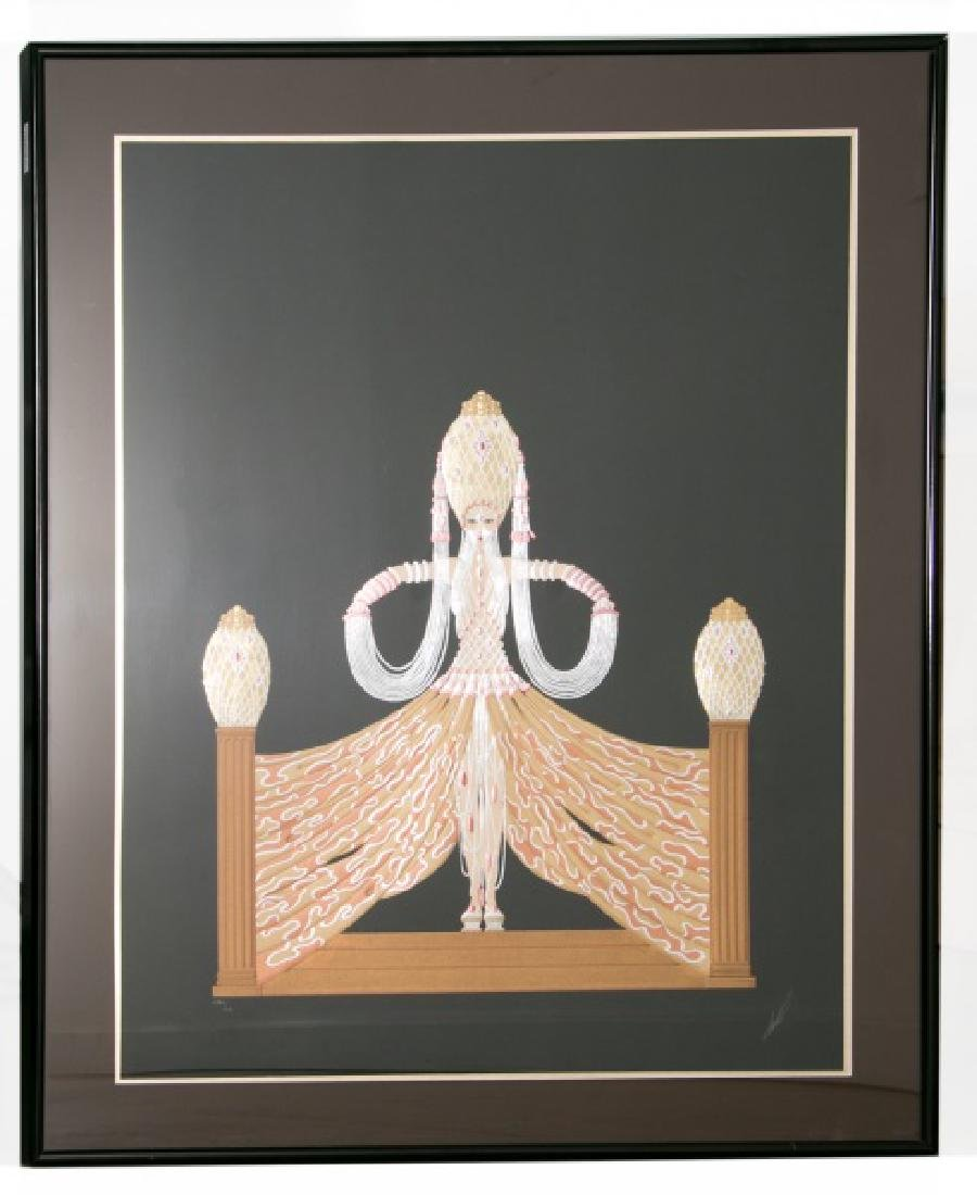 "Signed Erte ""Myth & Magic Suite"" Serigraph"