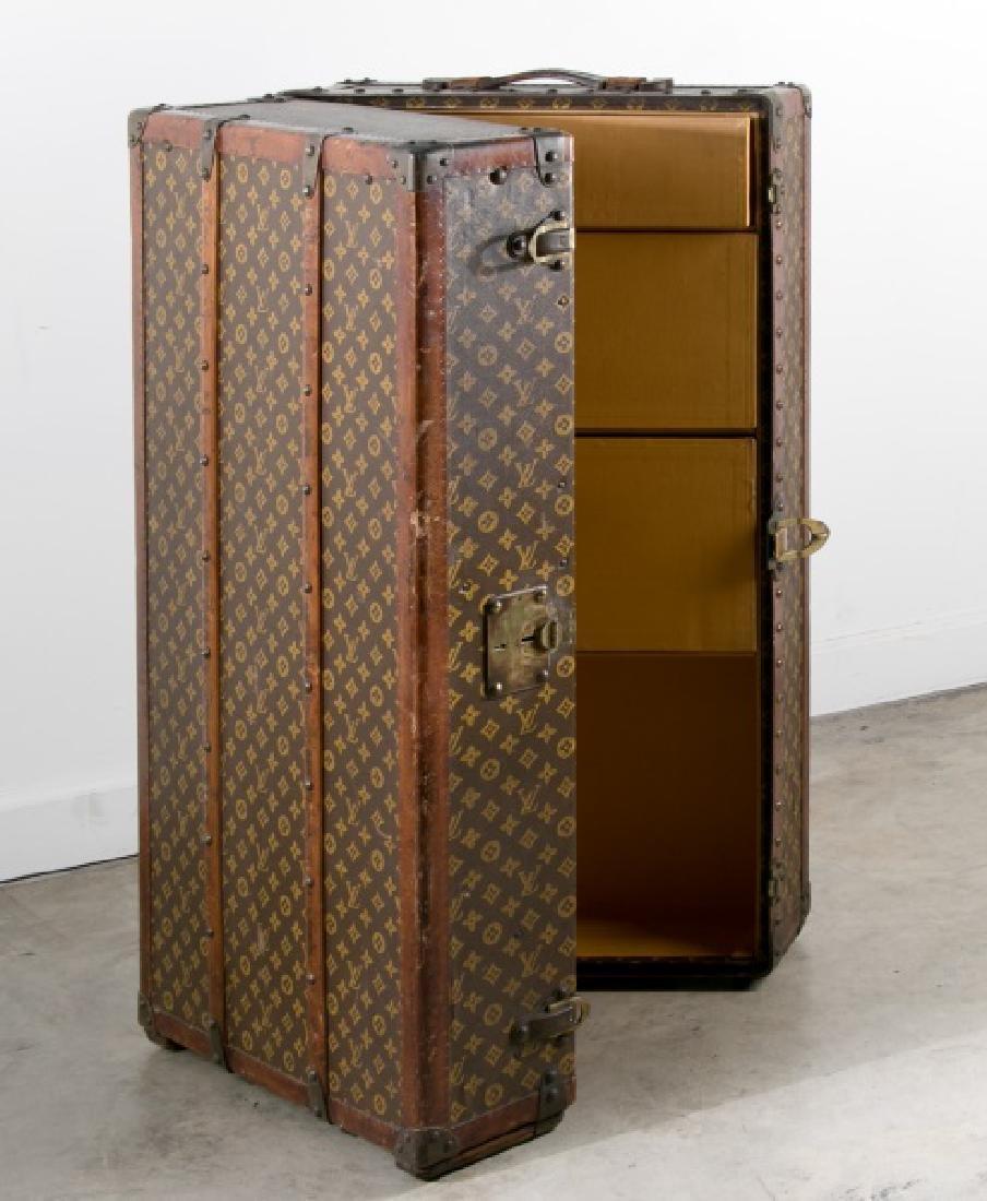 Louis Vuitton Wardrobe Trunk, Wanamaker Label