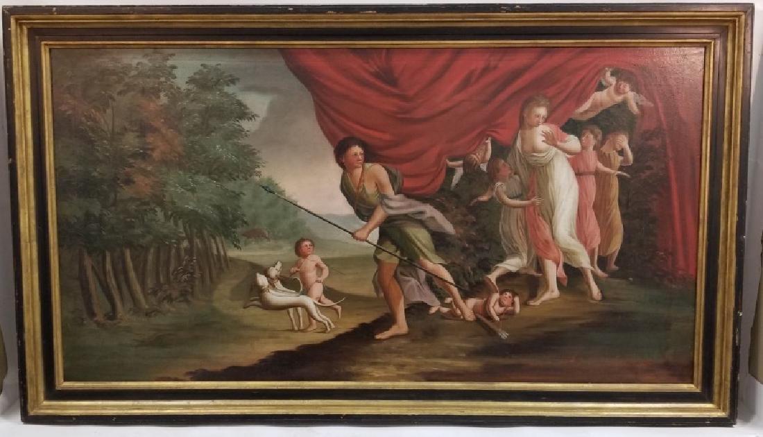 """Michele Felice Corne """"Venus & Adonis"""" 19th Century"""