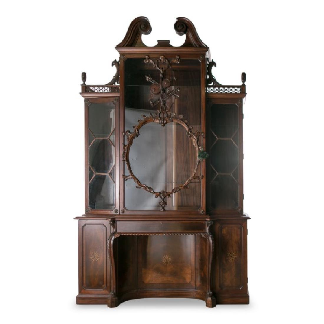 After Thomas Chippendale, Violin Bookcase of 1763