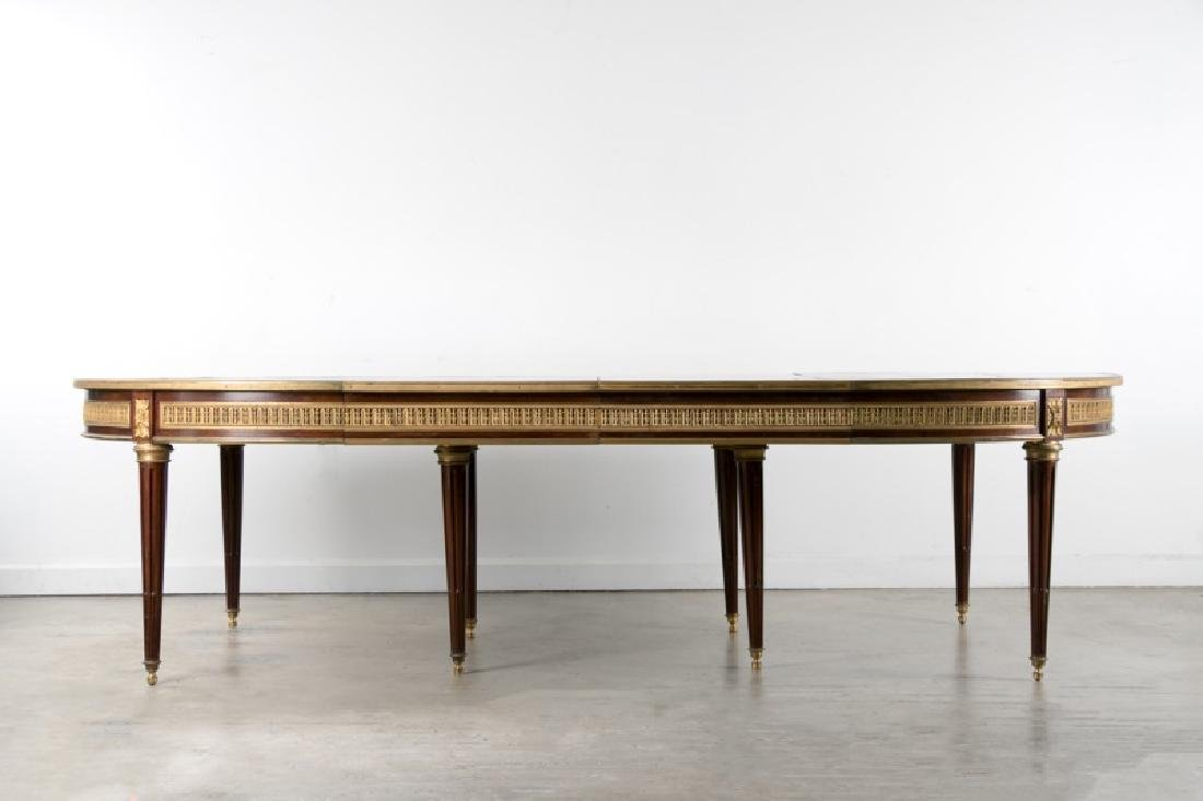 Fine Neoclassical Style Mahogany Dining Table
