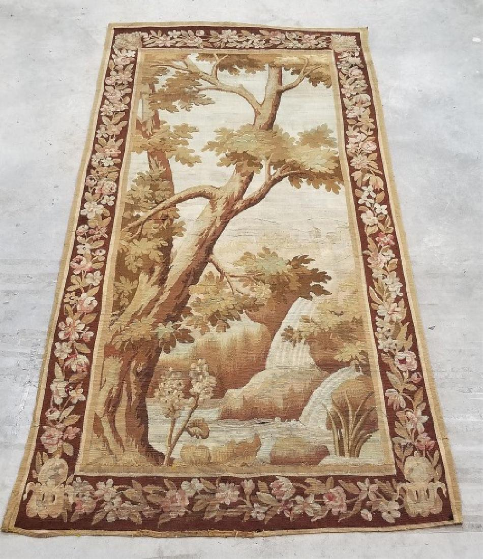 Continental Woven Aubusson Style Tapestry