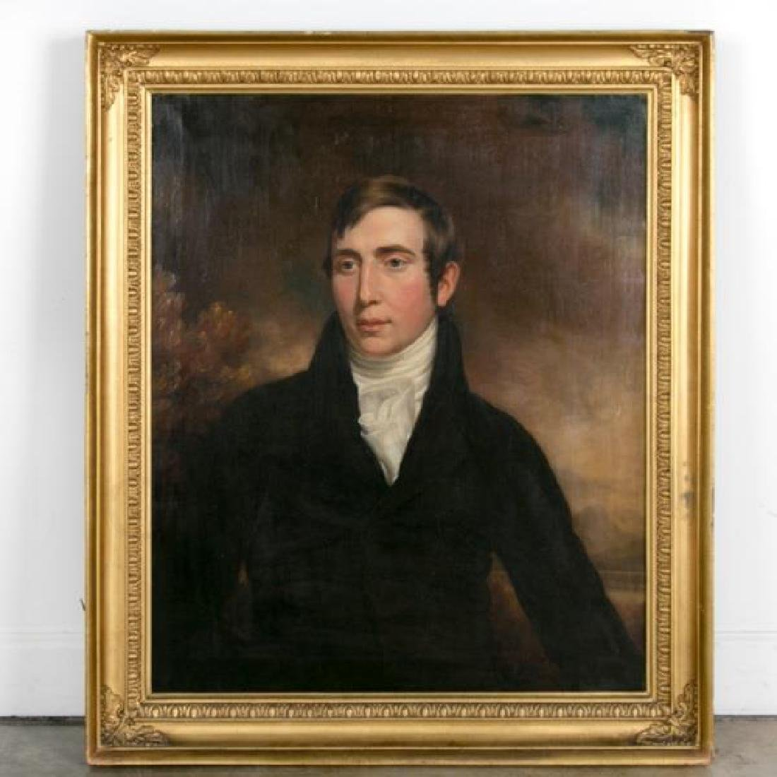 Scottish Portrait of Gentleman, Aitken Dott Frame