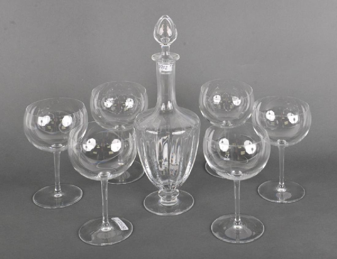 13 Pc. Baccarat Group, Decanter & Corton Stemware
