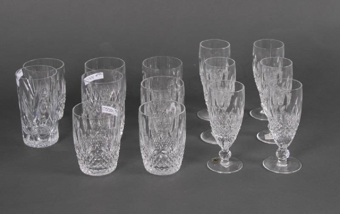 "14 pc Waterford ""Colleen"" Crystal Drinkware"