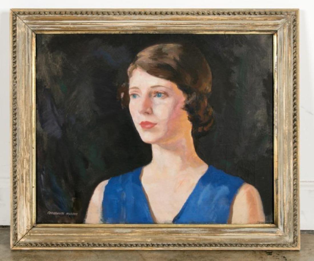 "Christopher A.D. Murphy, ""Portrait of Woman"""