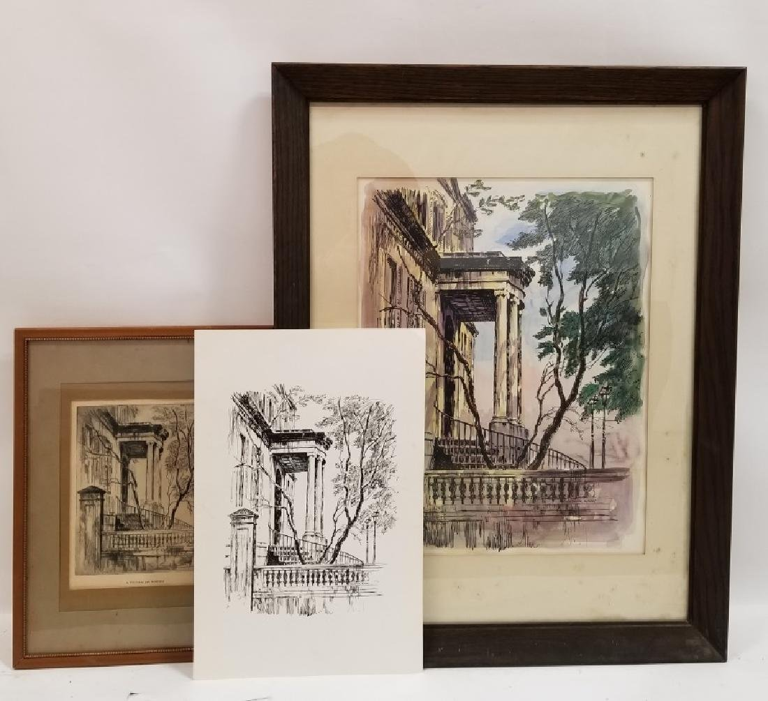 Group of 3 Christopher Murphy Works