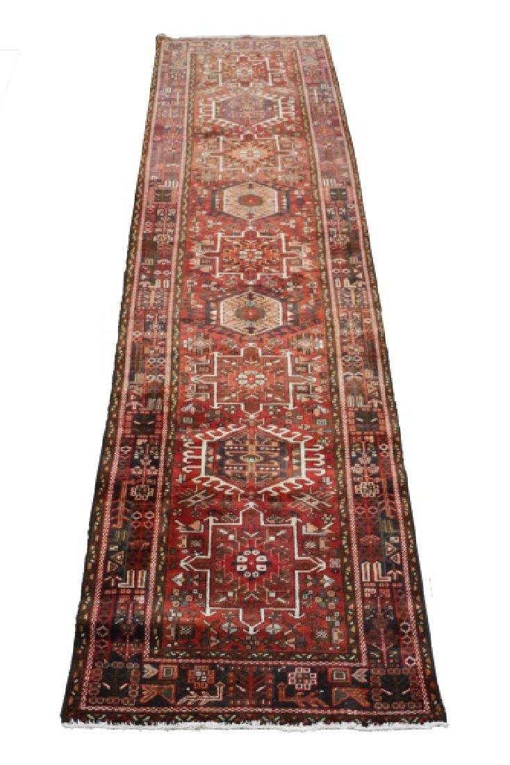 """Hand Woven Persian Karajeh Runner 3' 10"""" x 14' 10"""""""