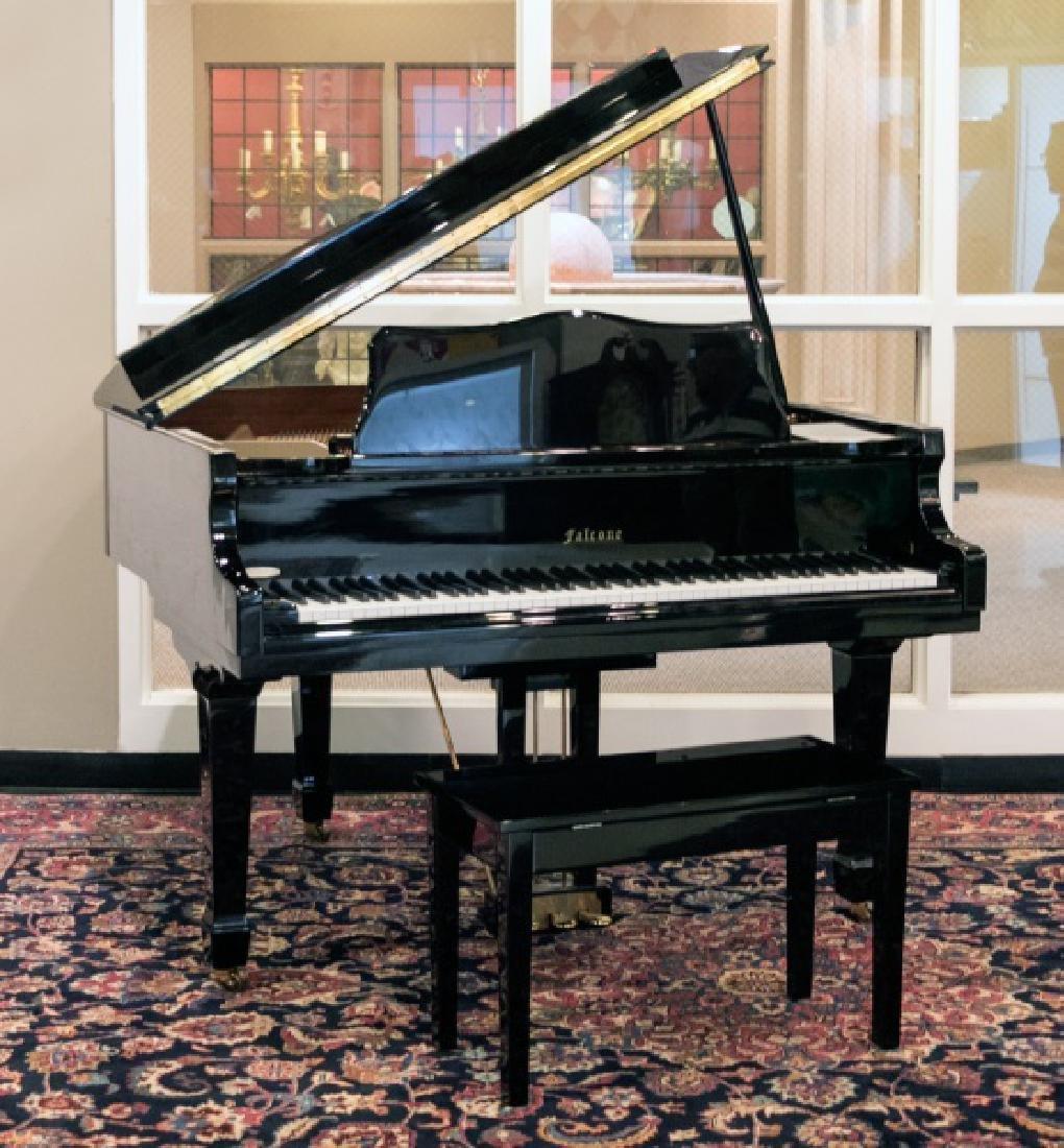 Falcone GF-42 Ebony Gloss Baby Grand Piano