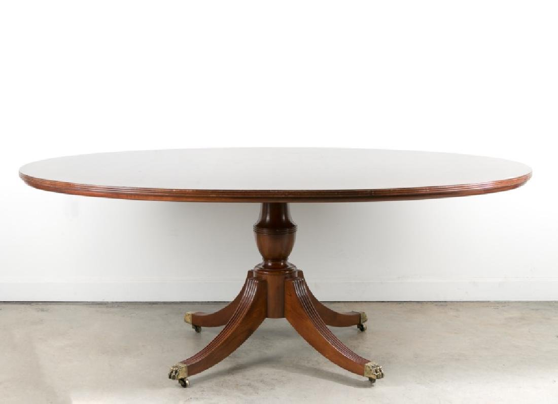 George III Style Mahogany Table By Widdicomb