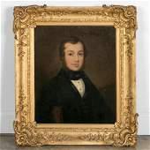 American School, Portrait of Gentleman, Unsigned