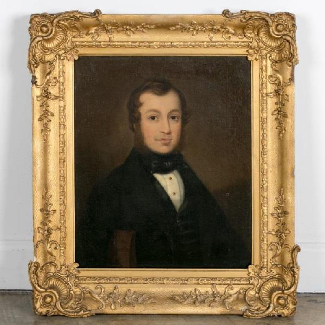 American School, Portrait of Gentleman, Unsigned