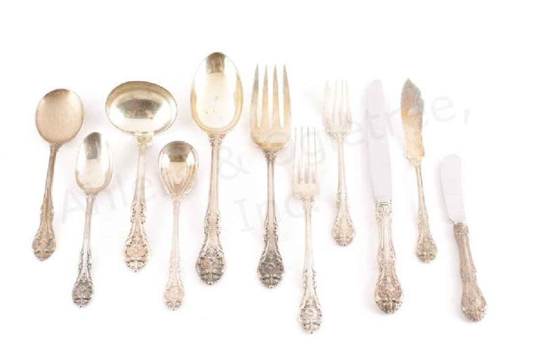 Gorham King Edward Pattern Sterling Flatware 53 pc