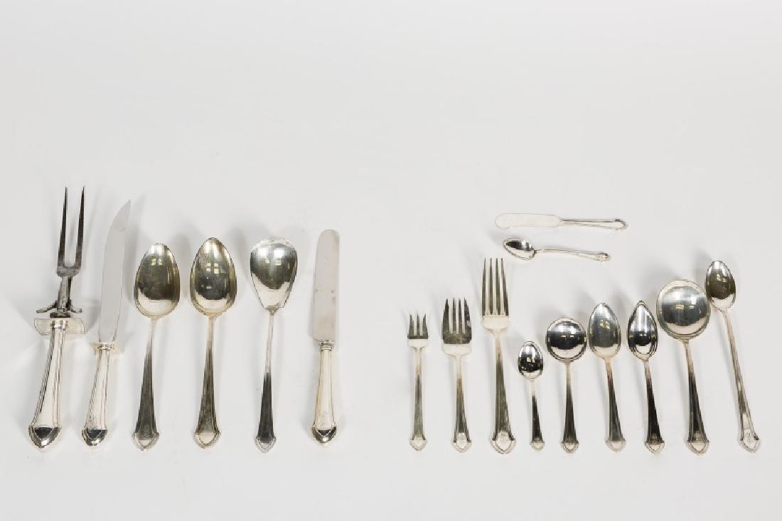 Durgin / Gorham Sterling Flatware Set, 178 Pieces