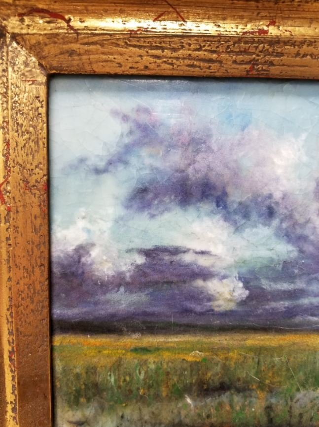 """Steven Stelz, """"The Marshes"""", Painting in Glass - 5"""