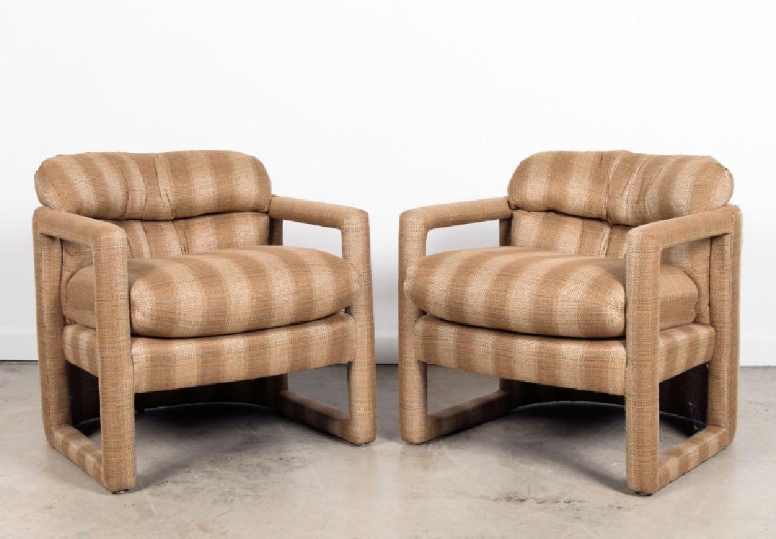 Pair, Milo Baughman For Drexel Parsons Chairs