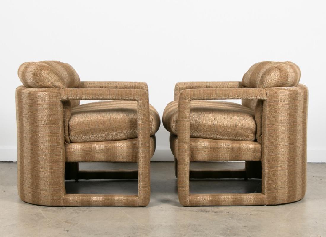 Pair, Milo Baughman For Drexel Parsons Chairs - 2
