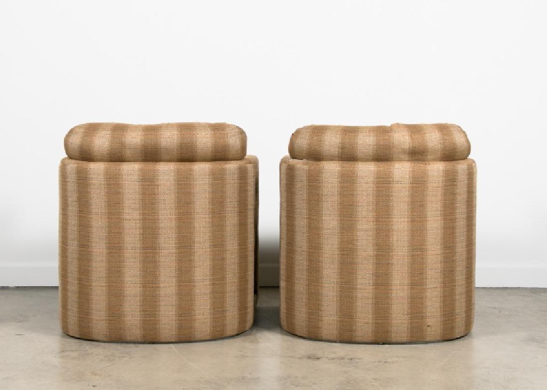 Pair, Milo Baughman For Drexel Parsons Chairs - 3