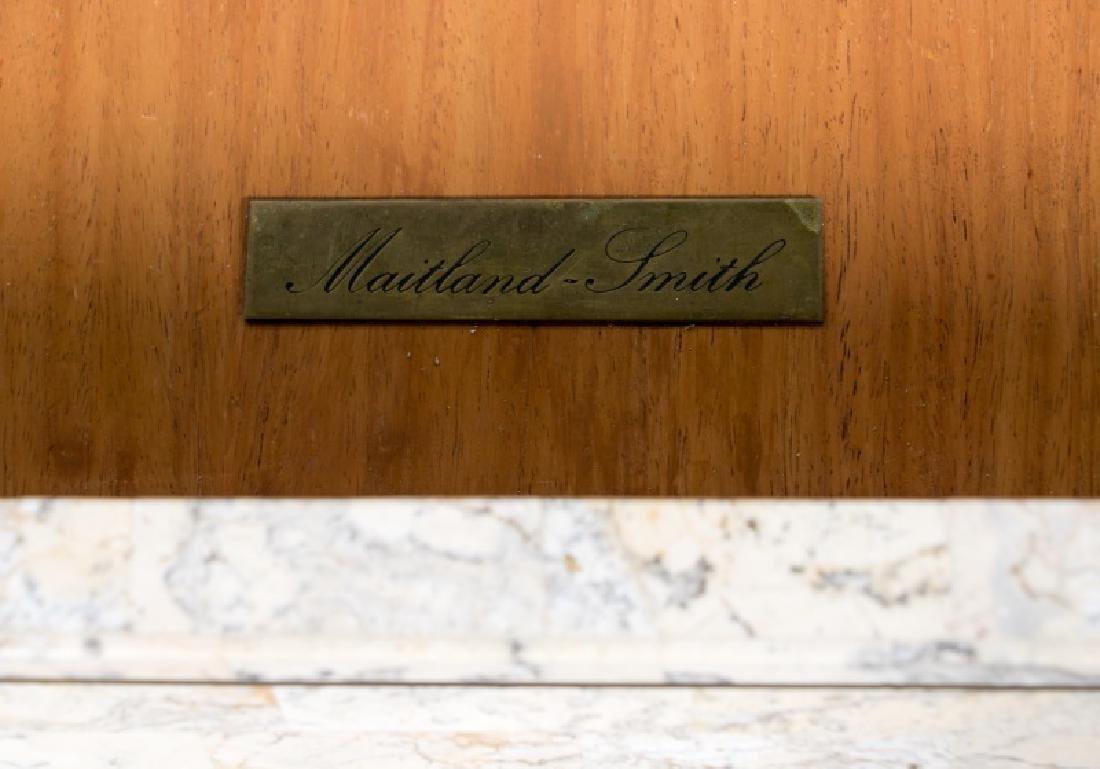 Maitland-Smith Tessellated Stone Writing Desk - 6