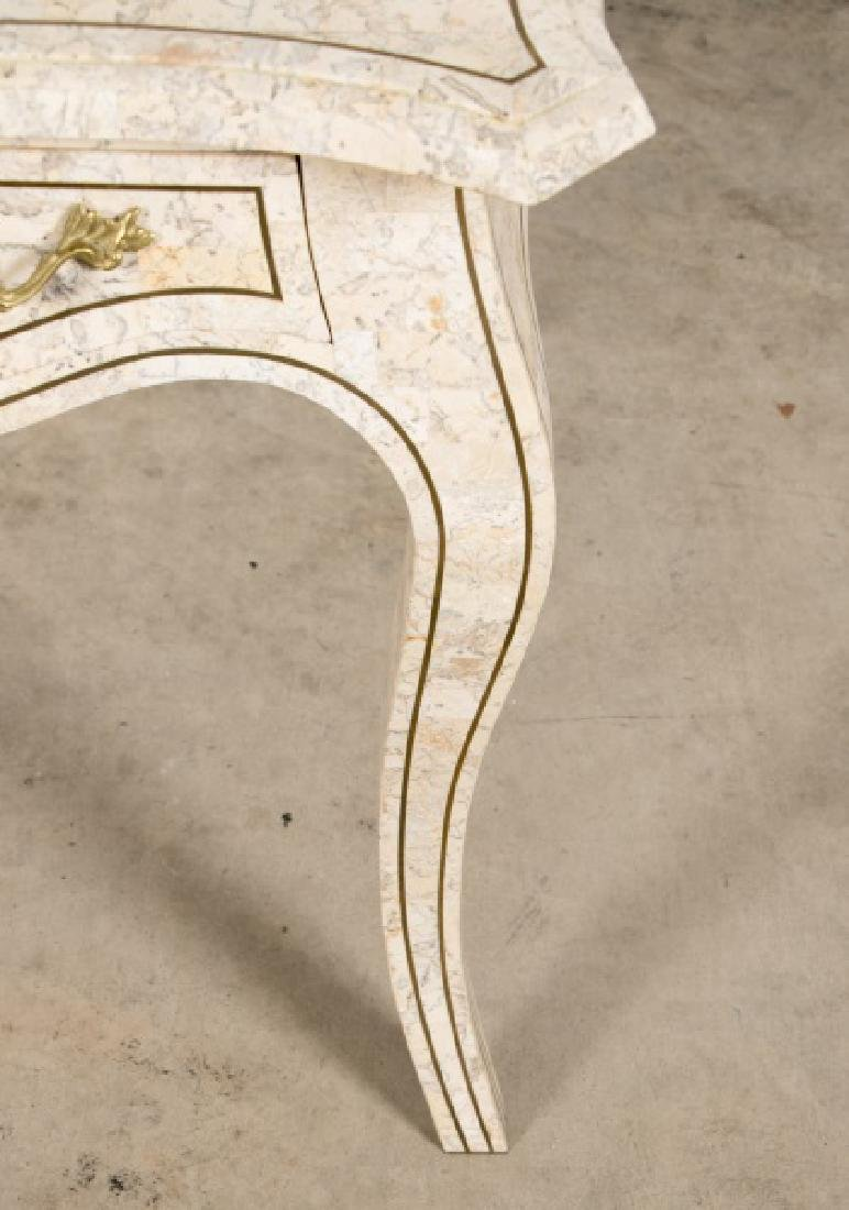 Maitland-Smith Tessellated Stone Writing Desk - 7