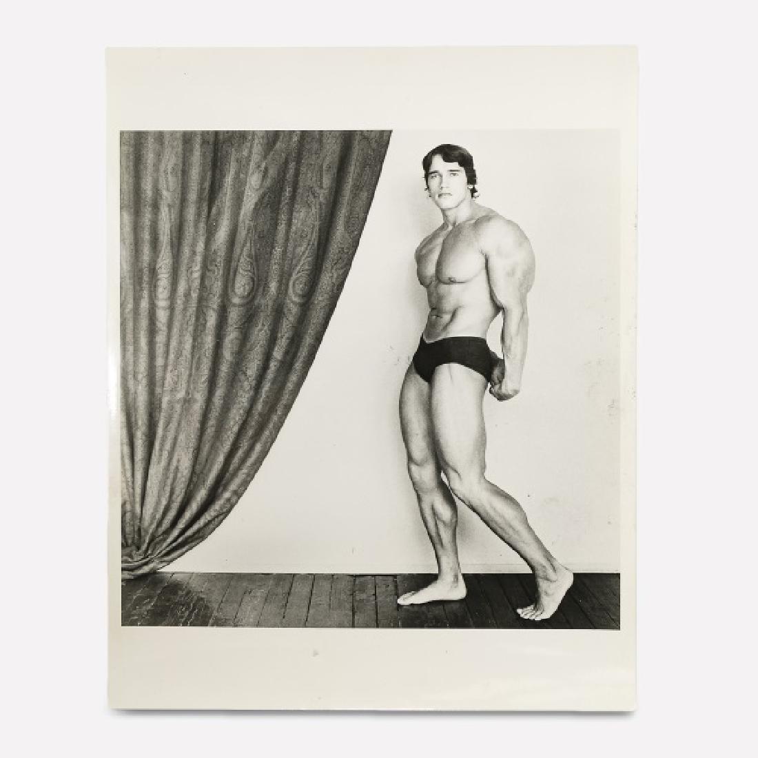 """Robert Mapplethorpe, """"Schwarzenegger"""" 1976"""
