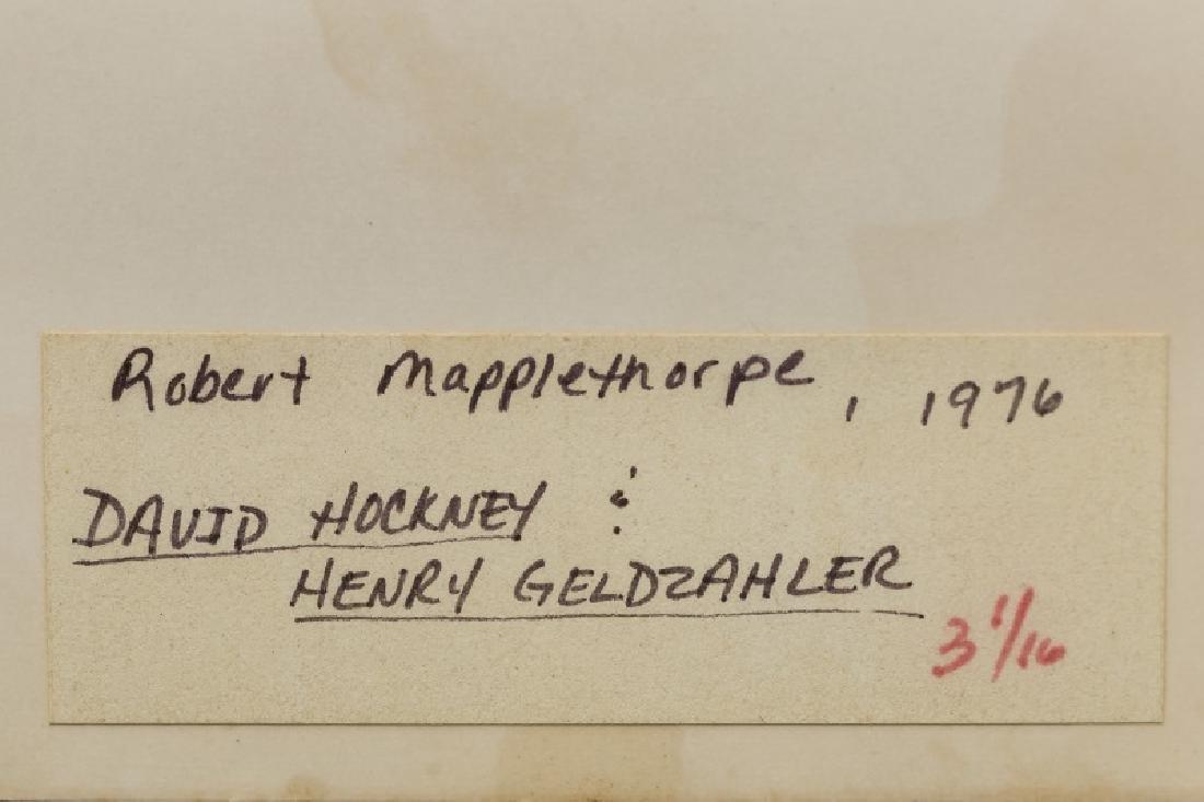 "Robert Mapplethorpe, ""David & Henry"" 1976 - 3"