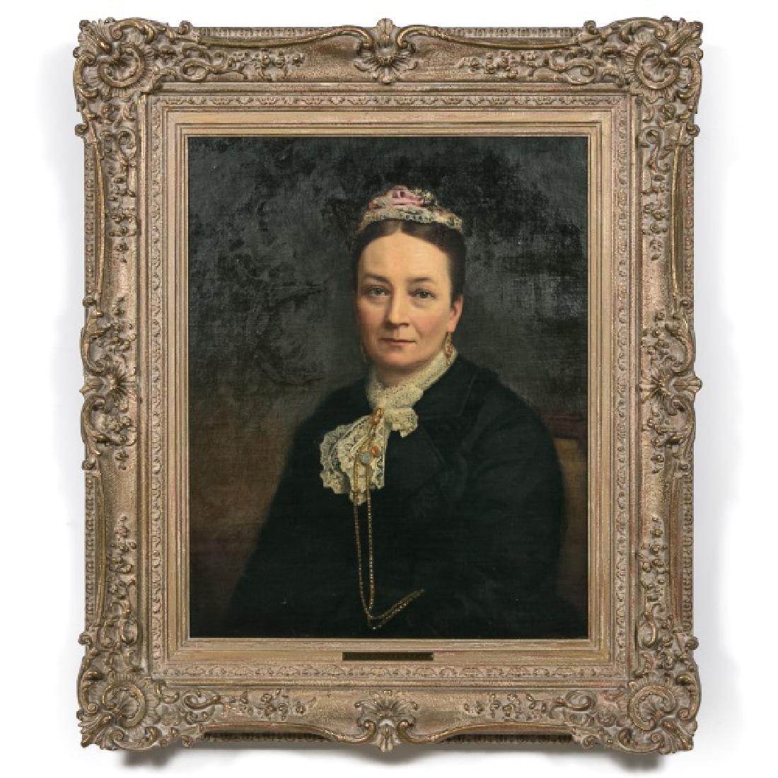 George T. Berthon, Portrait of Madame de Montigny