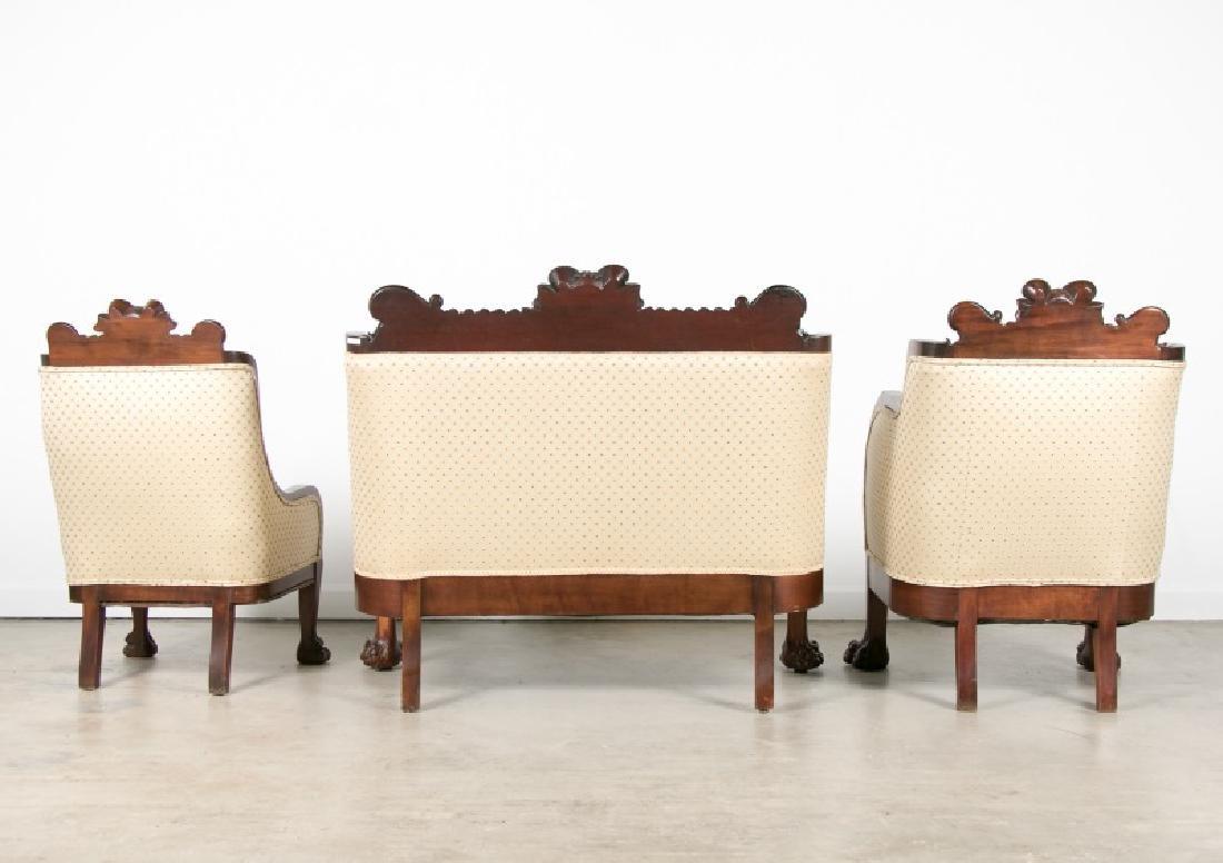 Karpen Furniture 3 Piece Ram's Head Parlor Suite - 2