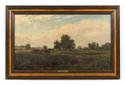George James Howard, Landscape Scene, 1870