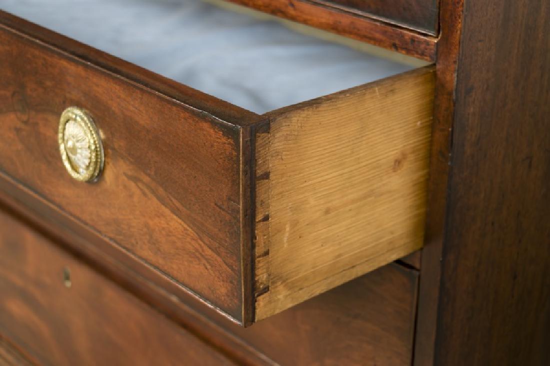 English 19th c. Mahogany Butler's Secretary - 6