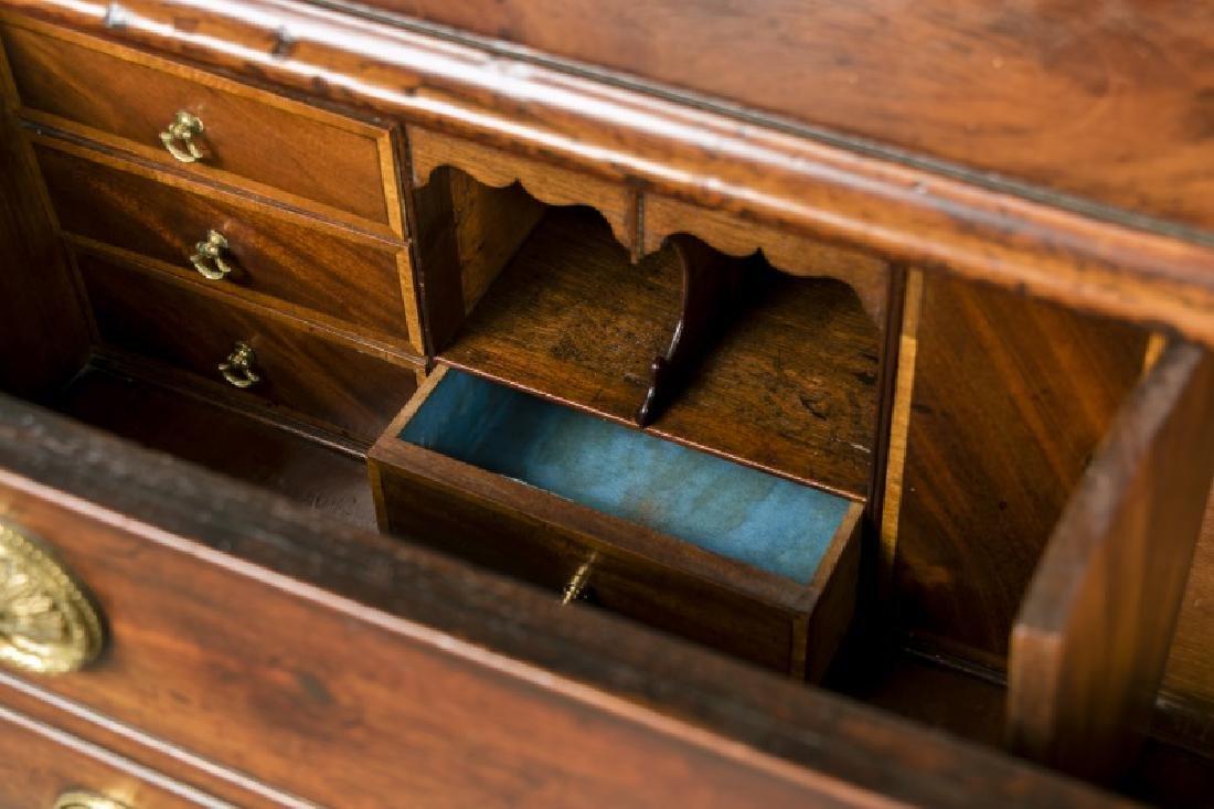 English 19th c. Mahogany Butler's Secretary - 8