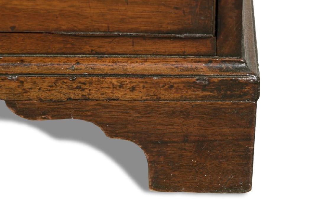 English 19th c. Mahogany Butler's Secretary - 9