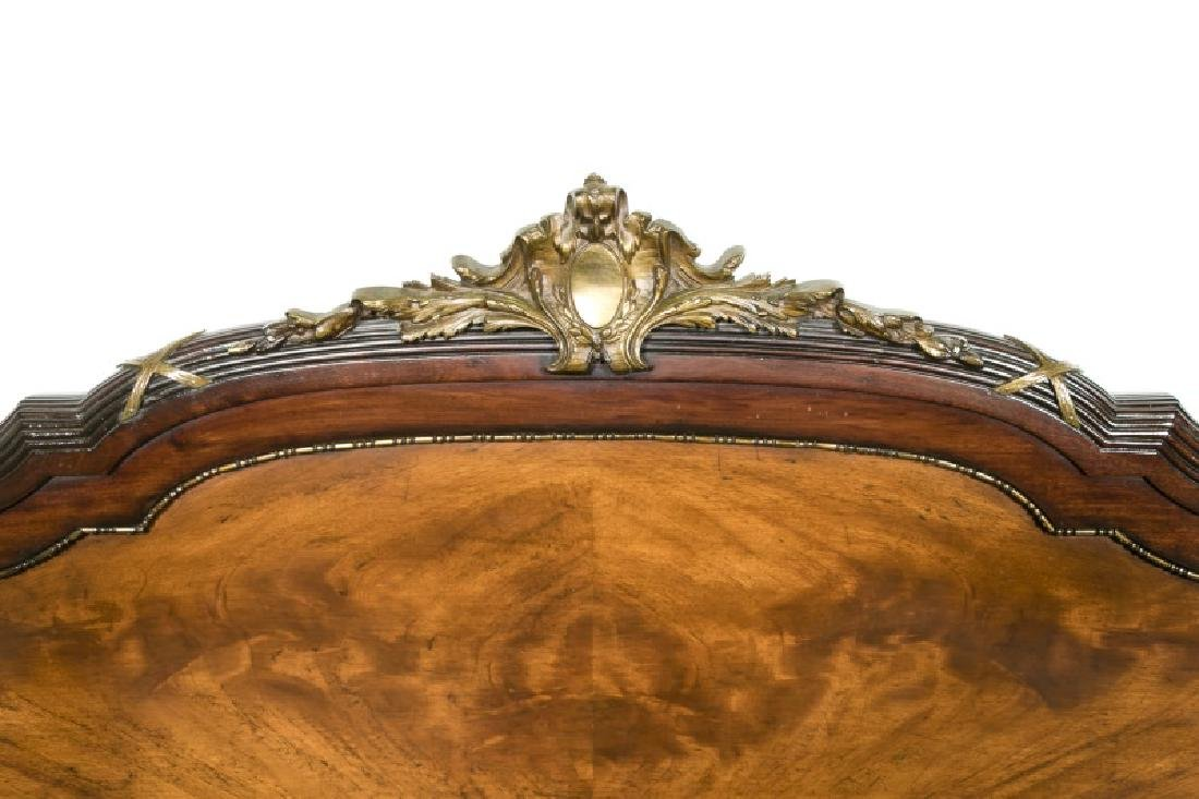 Directoire Style Ormolu Mounted Mahogany Bed - 8