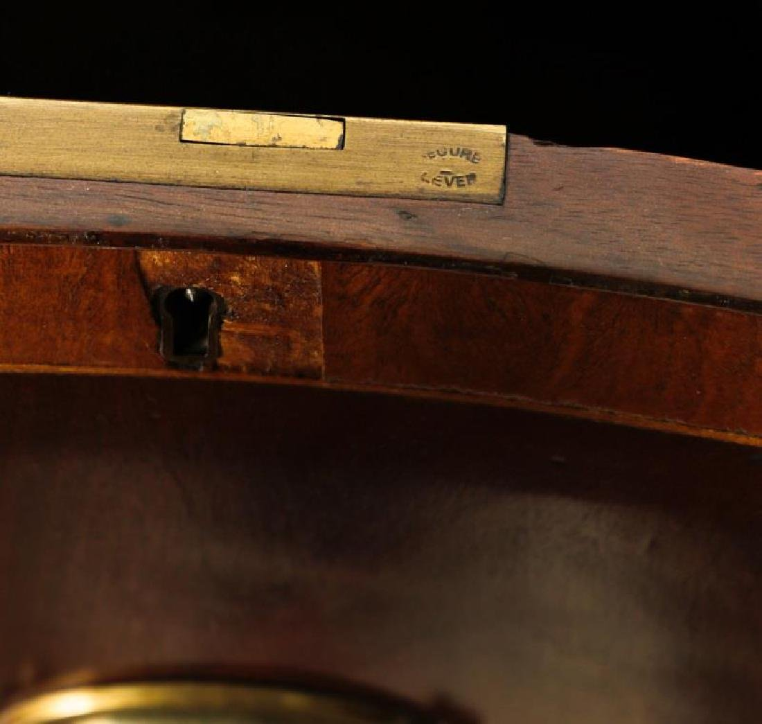 Mahogany Serpentine Sideboard w/ Brass Gallery - 6