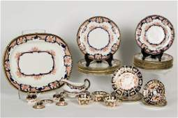 36 PC Porcelain China Set, Various Imari Patterns